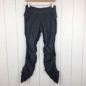 Lululemon Dance Studio Pants M 8 Gray Pockets